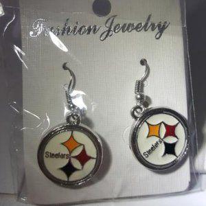 Pittsburgh Steeleters NF Fashion Earrings NEW